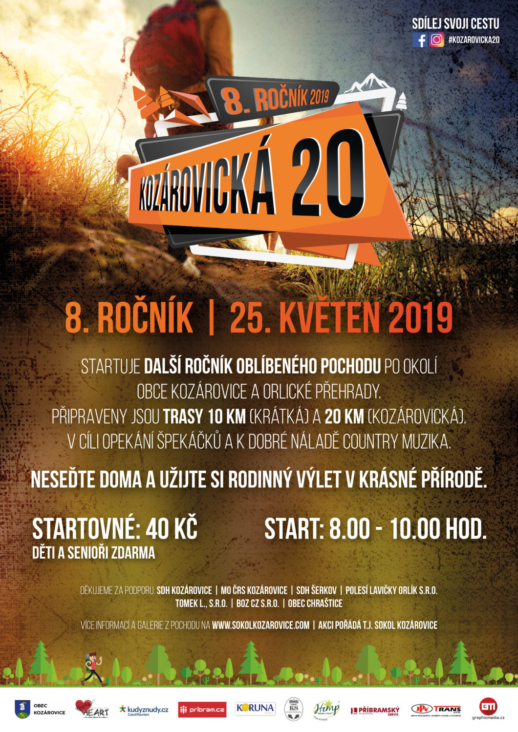 Kozárovická 20 – 25. 5. 2019