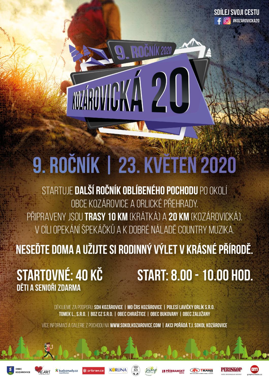 Kozárovická 20 – 23. 5. 2020 – zrušeno