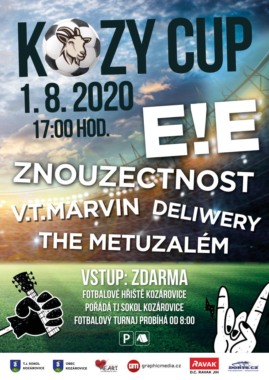 Kozy Cup 2020 – 1. 8. 2020